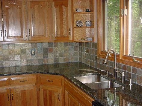 Slate Kitchen Backsplash by 1000 Images About Kitchen Backsplash On Wall