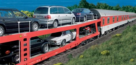 bahn autos autoreisezug der deutschen bahn mit dem auto die ferien