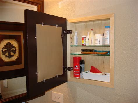 how to frame a medicine cabinet mirror recessed picture frame medicine cabinets with no mirrors