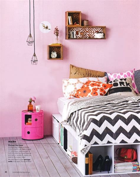 10 Simple And Fresh Design Ideas For Teen Girl's Bedroom