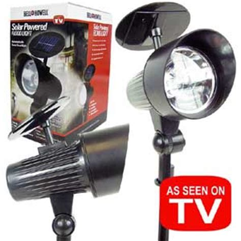 as seen on tv lights bell howell solar powered flood lights as seen on tv