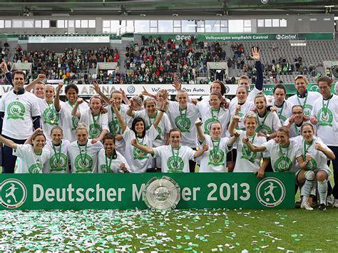 bundesliga die greuther weiber frauen bundesliga vfl wolfsburg holt ersten titel dfb 2 | Wolfsburg MeisterFrauen 2013 artikel