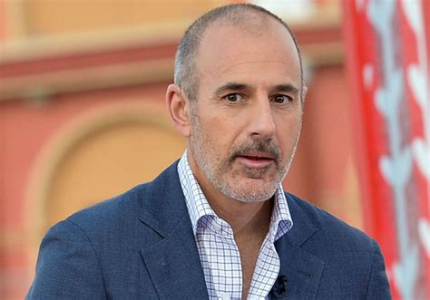 'Disgraced' Matt Lauer Reportedly Caught Cheating On His ...