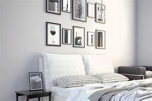 Bilder über Bett : deko trend mehr ist mehr farben muster co kombinieren ~ Watch28wear.com Haus und Dekorationen