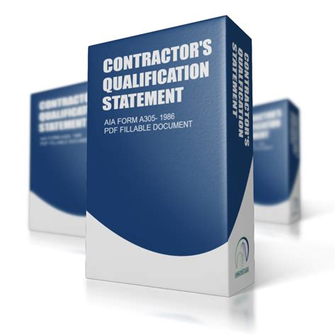 aia a305 fillable form free aia form a305 contractor s qualification statement pdf