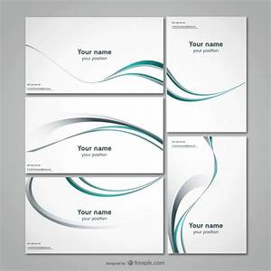 business stationery template vector free download With queue cards template