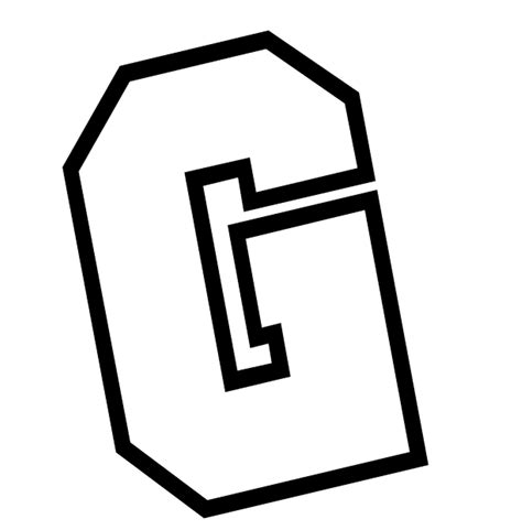 letter g letter g coloring pages only coloring pages