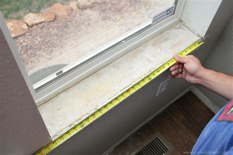 Replacing An Interior Window Sill by Home Improvement How To Add Trim Around An Interior