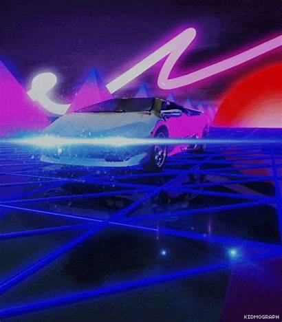 Gifs Loop Giphy Neon Kidmograph Cool Animated