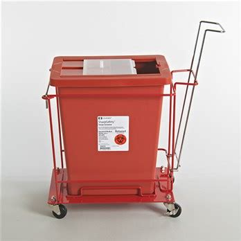 covidien cart      gallon containers stericycle