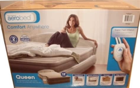 denver mattress the original aerobed new fast inflation with headboard design