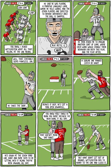 The Philosophy Superbowl Existential Comics
