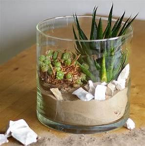 Deko Im Glas Ideen : wohnen mit pflanzen deko ideen im glas recyclingkunst und der versuch langsam und ~ Orissabook.com Haus und Dekorationen