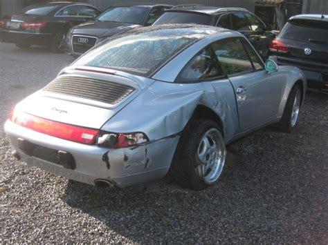 porsche 993 kaufen 911 993 targa 3 6cc variocam unfallwagen porsche