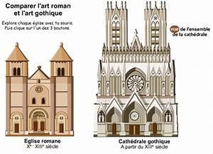 Comparer Tryba Et Art Et Fenêtre : histgeolb comparer art gothique et art roman ~ Melissatoandfro.com Idées de Décoration
