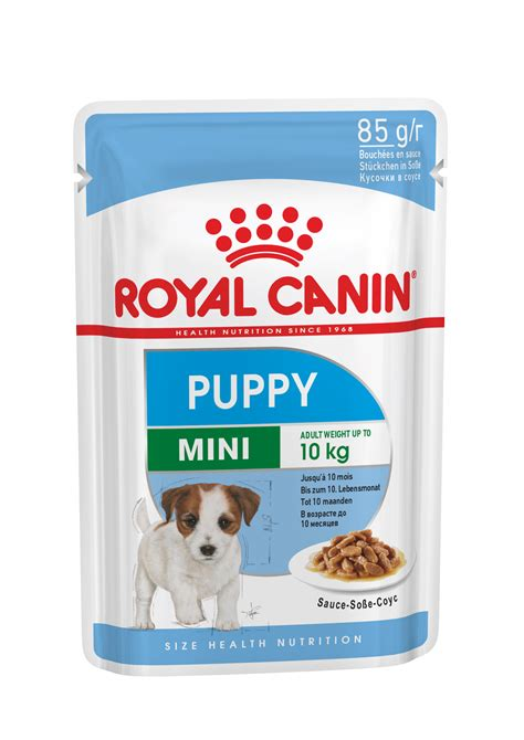 mini puppy wet pouch wet royal canin