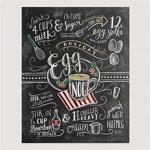 Tafel Kreide Küche : urlaub decor egg nog rezept drucken kreide kunst tafel dekor weihnachten k che decor ~ Markanthonyermac.com Haus und Dekorationen