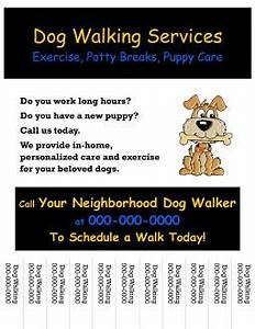 flyer for dog walking images frompo 1 With dog walking flyer template free