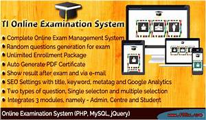 Online Ti Examination System Download Php Scripts Project