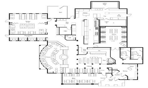 restaurant kitchen floor plans sle restaurant floor plans restaurant floor plan design 4784