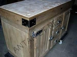 Billot De Boucher Ikea : de kercoet billot ilot bil08 portes frigo de boucher antan et neo ~ Voncanada.com Idées de Décoration