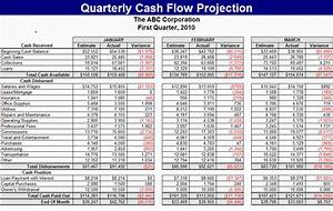Download quarterly cash flow projection for Quarterly cash flow projection template excel