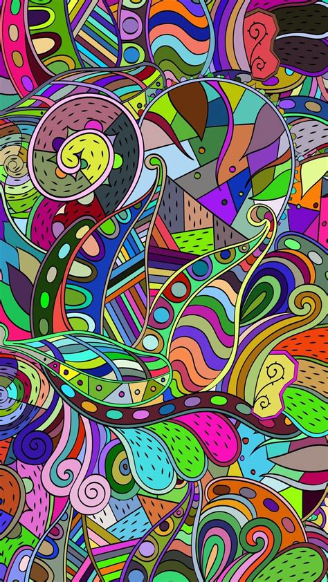 Doodle art wallpaper for iphone hd 25 hdwallpaper20 com. Colorful Doodle Wallpaper - KoLPaPer - Awesome Free HD Wallpapers
