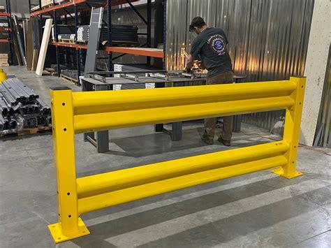 warehouse safety guard rails warehouse rack  shelf