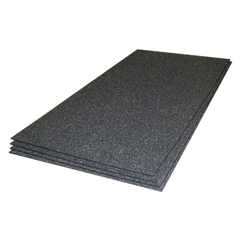 home depot laminate underlayment thermosoft cerazorb 2 ft x 48 in x 3 16 in synthetic cork subfloor insulation sheets 4