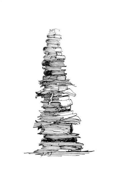 Stack of books. Quite a possibility. | Book tattoo, Book drawing, Card tattoo