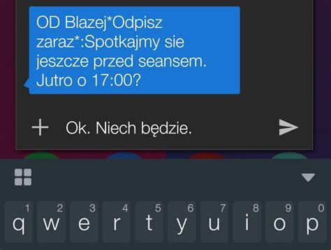 jak odpisać na sms z ekranu blokady w androidzie