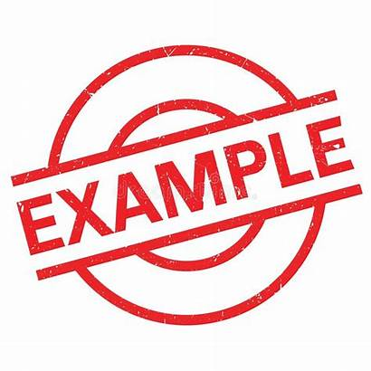 Example Stamp Rubber Grunge Easily Vector Paper