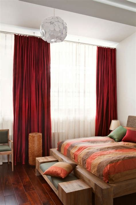 rideau chambre a coucher adulte gardinen schlafzimmer 75 bilder beweisen dass gardinen ein muss im schlafbereich sind