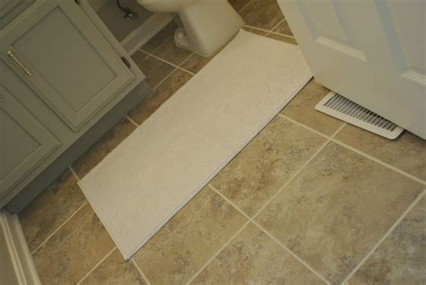 Peel And Stick Tile In Bathroom by 31 Stunning Pictures And Ideas Of Vinyl Flooring Bathroom
