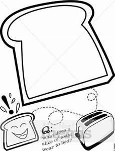 Cartoon Toasted Bread | Holiday Clipart Archive