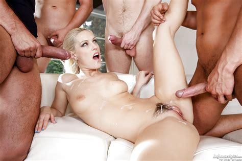 Blonde Slut Blanche Bradburry In Heels Sucking Cock