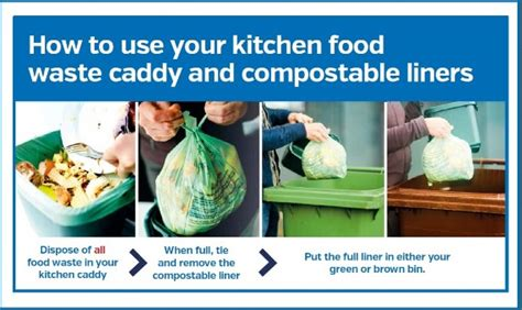 how to dispose of cooking food waste ards and north down borough council