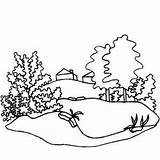 Valley Coloring Pages Cottage Mountain Forge Designlooter Printable Template Drawings 300px 87kb Simple sketch template