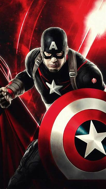 Captain America Iphone Cool Mode Marvel Wallpapers