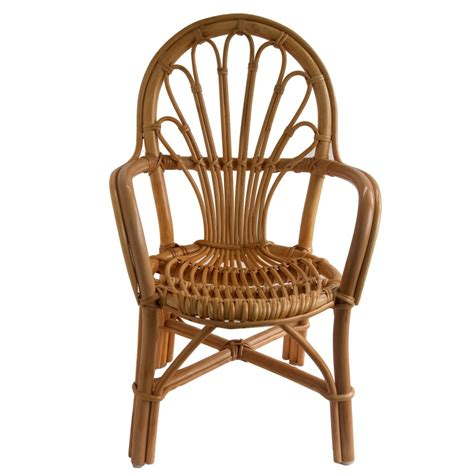 childrens wicker table and chairs child s cane chair