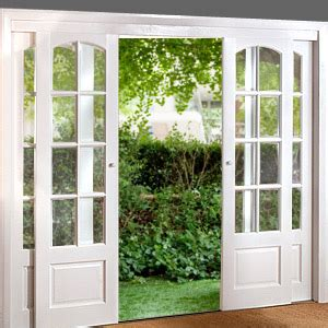 Sliding Doors That Look Like Doors by These Would Be Great To Replace My Glass Sliding Door With