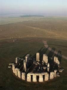 Aerial View Of Stonehenge  Unesco World Heritage Site
