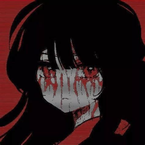 Black And Red Aesthetic Pfp Anime