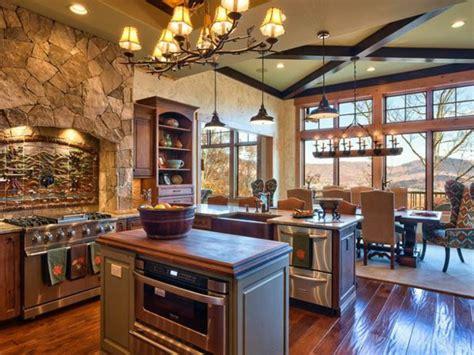 plus belles cuisines les plus belles cuisines rustiques en images