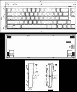 Leopold Fc660m Black Pbt Mechanical Keyboard  Blue Cherry Mx