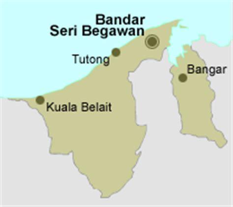 Brunei Darussalam: Map