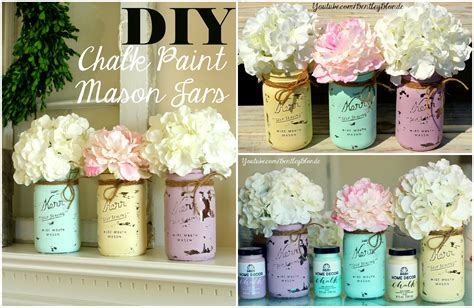 bathroom shabby chic ideas diy chalk paint jar