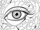 Coloring Pages Eye Realistic Eyes Eyeball Drawing Colouring Transparent London Preschool Anime Getdrawings Getcolorings Hair Printable Angry Clipartmag sketch template