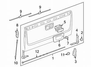 Chevrolet Silverado 1500 Hd Tailgate  Upper   Box  Assist