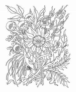 31 Best And Free Flower Coloring Pages For Adults